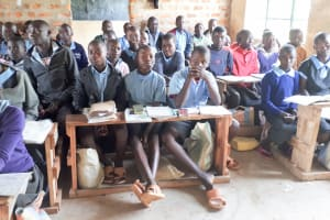 The Water Project: Namakoye Primary School -  Students In Class