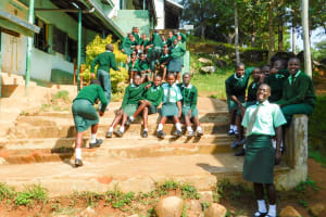 The Water Project: Esibila Secondary School -  Students
