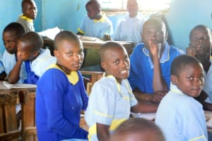 The Water Project: Mabanga Primary School -  Students In Classroom