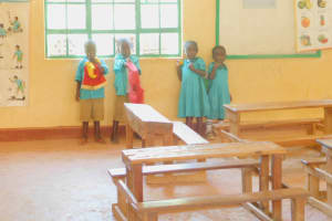The Water Project: Makunga Primary School -  Students On Class Break