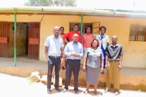 The Water Project: Elufafwa Community School -  School Staff