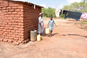 The Water Project: Ndithi Community -  Water Storage