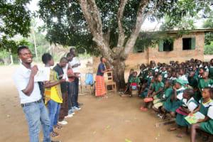 The Water Project: DEC Mathem Primary School -  School Training