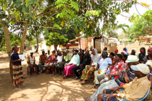 The Water Project: Modia Community, 63 Spur Road -  Training