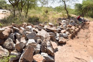 The Water Project: Maluvyu Community D -  Trenching