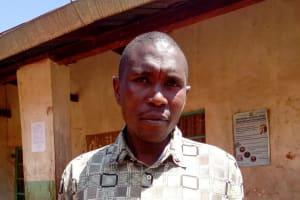 The Water Project: Sango Primary School -  Senior Teacher Hezron Gweyaya