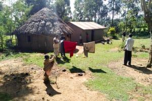 The Water Project: Sambuli Community, Nechesa Spring -  Household