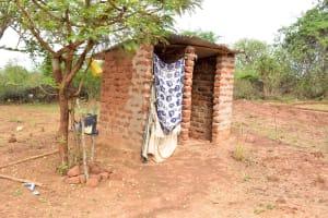 The Water Project: Kathamba Ngii Community -  Latrine