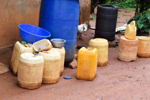 The Water Project: Muluti Community A -  Water Containers