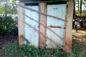 The Water Project: Khabukoshe Primary School -  Latrines No Longer In Use