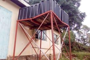 The Water Project: Koitabut Secondary School -  Plastic Tank