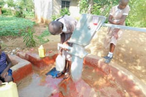 The Water Project: Ichinga Muslim Primary School -  Well In The Community