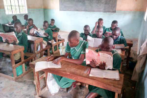 The Water Project: Elufafwa Community School -  Students In Class