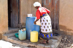The Water Project: Mbau Community B -  Water Storage