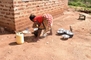The Water Project: Ndithi Community A -  Feeding Animals