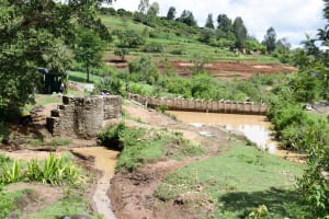 The Water Project: Mitini Community C -  Well Construction