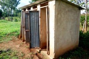 The Water Project: Khabukoshe Primary School -  Latrines