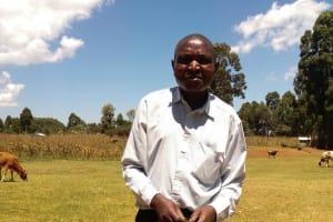 The Water Project: Sango Primary School -  Deputy Headteacher Protus Silali