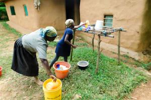 The Water Project: Wajumba Community, Wajumba Spring -  Homestead