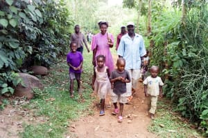The Water Project: Musango Community, Mwichinga Spring -  Path To The Spring