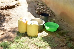 The Water Project: Mbau Community B -  Water Fetching Containers