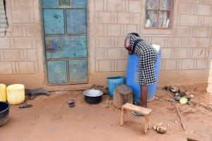 The Water Project: Kathamba Ngii Community -  Water Storage