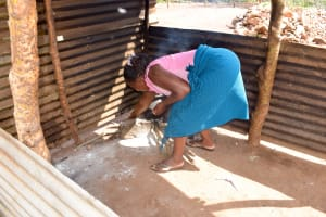 The Water Project: Ndithi Community A -  Kitchen