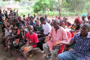 The Water Project: DEC Mathem Primary School -  Community Training