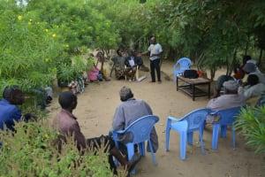 The Water Project: Kyetonye Community A -  Community Training