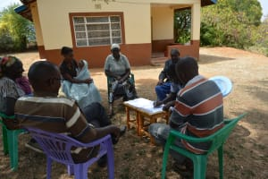 The Water Project: Kithuluni Community B -  Community Members At Training