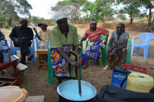 The Water Project: Kithuluni Community B -  Soap Making