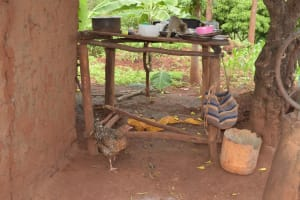 The Water Project: Ivumbu Community -  Dish Drying Rack