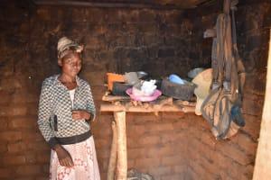 The Water Project: Ivumbu Community -  Dish Rack Inside Kitchen