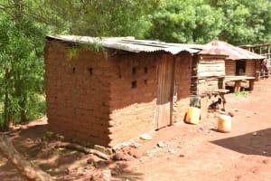 The Water Project: Ivumbu Community -  Kitchen Building