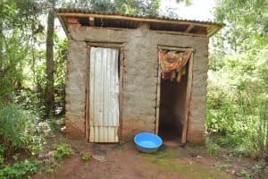 The Water Project: Ivumbu Community -  Latrine And Bathing Room