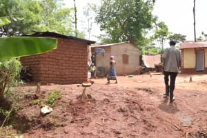 The Water Project: Ivumbu Community -  People Walking About In Household Compound