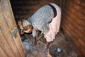 The Water Project: Ivumbu Community -  Preparing Fire For Cooking