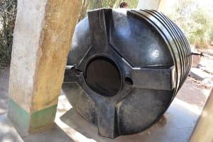 The Water Project: Kakunike Primary School -  Broken Water Tank