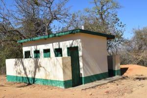 The Water Project: Kakunike Primary School -  Girls Latrines Block Two