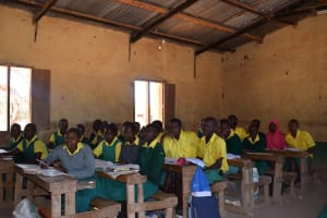 The Water Project: Kakunike Primary School -  Older Primary Students