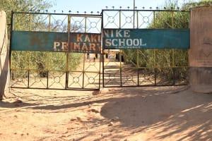 The Water Project: Kakunike Primary School -  School Grounds Entrance