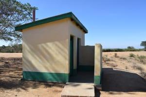 The Water Project: Kakunike Primary School -  Staff Latrines