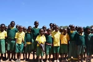 The Water Project: Kakunike Primary School -  Students