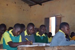 The Water Project: Kakunike Primary School -  Studying