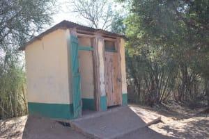 The Water Project: Kakunike Primary School -  Girls Latrines Block One