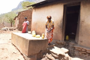 The Water Project: Maviaume Primary School -  Beginning To Prepare Coooking