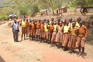 The Water Project: Maviaume Primary School -  Students Outside