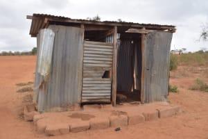 The Water Project: Murwana Primary School -  Girls Latrines