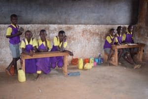 The Water Project: Murwana Primary School -  Students In The Back Of Class