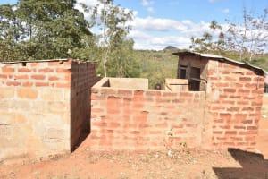 The Water Project: Kwa Kyelu Primary School -  Boys Latrine Block